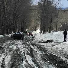 Mud season in Vermont. It's winter's... - Strangled Darlings | Facebook