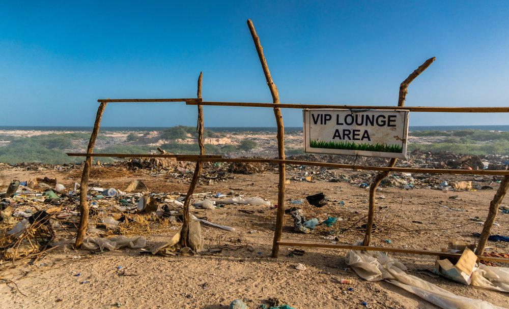 VIP Lounge Area — Aisle Seat Please